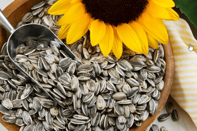 sunflower seeds and testosterone