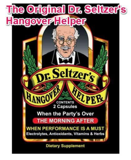 dr seltzers hangover helper