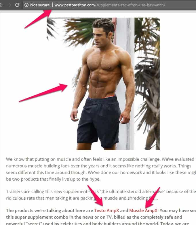 zac efron testo ampx and muscle ampx