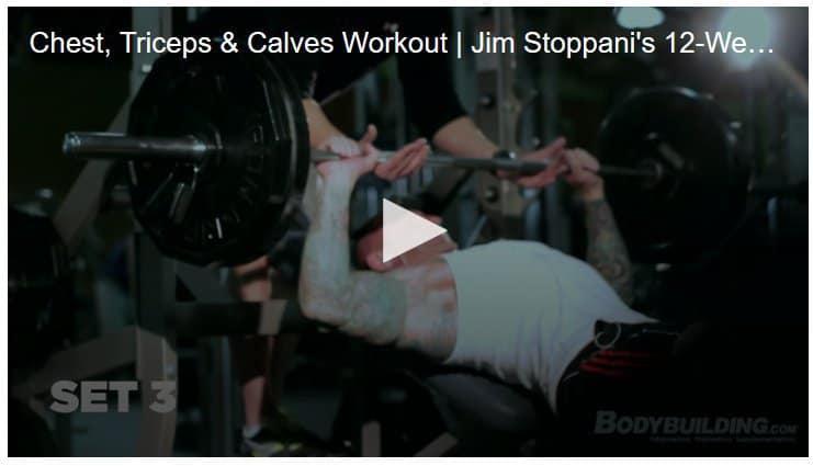 jim stoppani shortcut to size video week 1