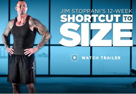 jim stoppani's shortcut to size review
