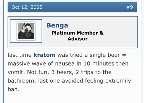 mixing kratom and alcohol side effects