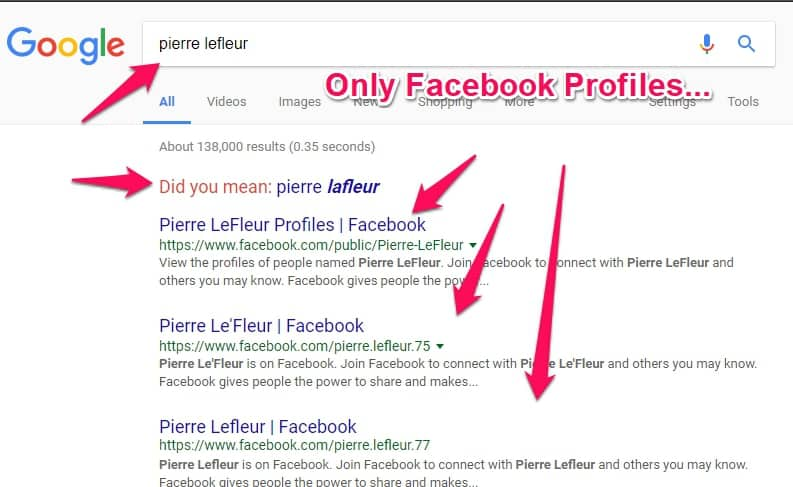 pierre lefleur google search