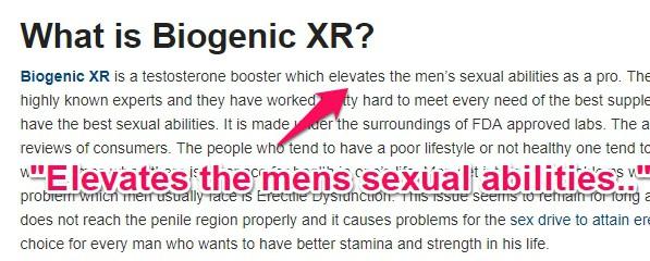 biogenic xr fake review