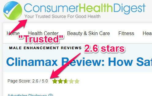 clinamax reviews on other websites