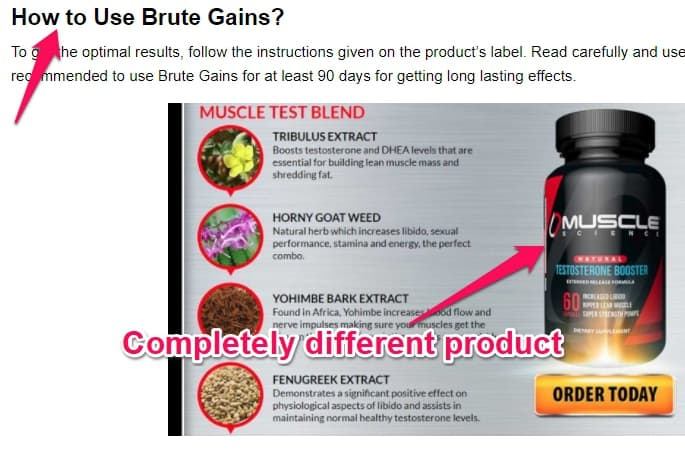 conflicting info about brute gains