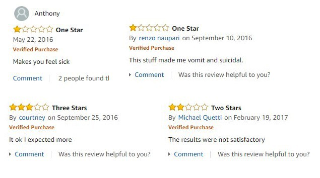 negative reviews of fire ant pills on Amazon