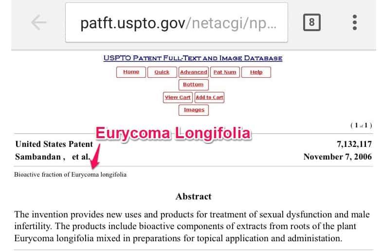 viotren eurycoma longifolia