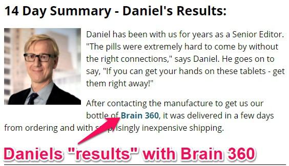 brain 360 results