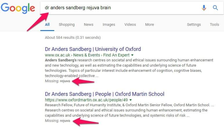 dr anders sandberg rejuva brain