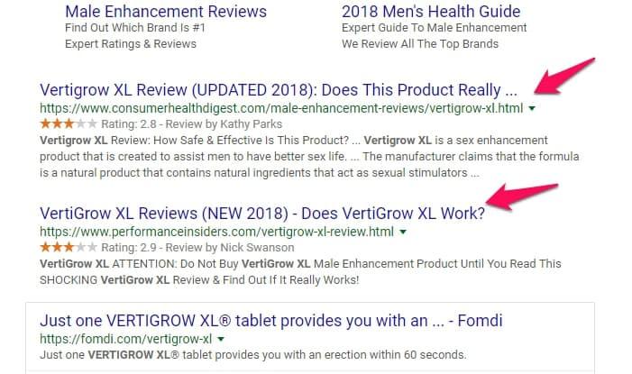 vertigrow xl reviews
