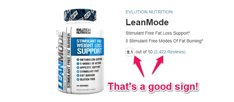 LeanMode weight loss supplement