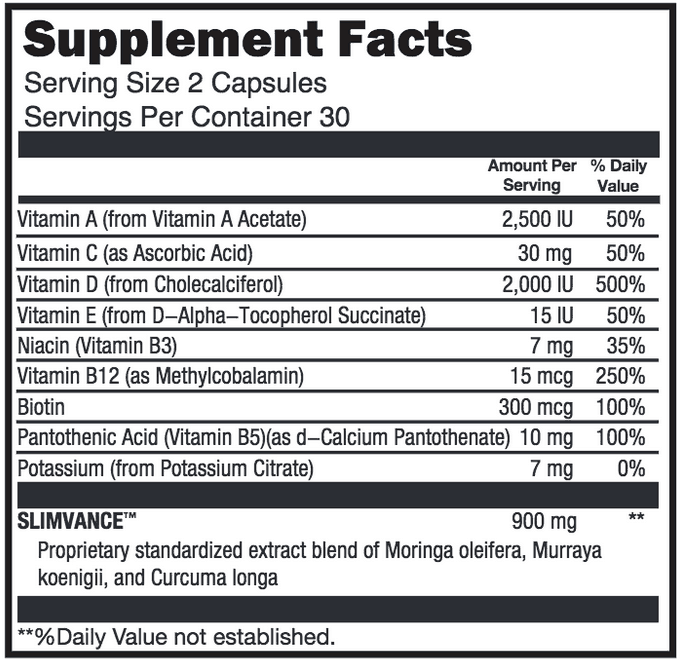 NatureThin weight loss supplement ingredients.</p><p class=