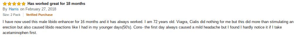 One man's positive review of Adam's Secret