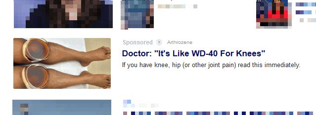 arthrozene ad
