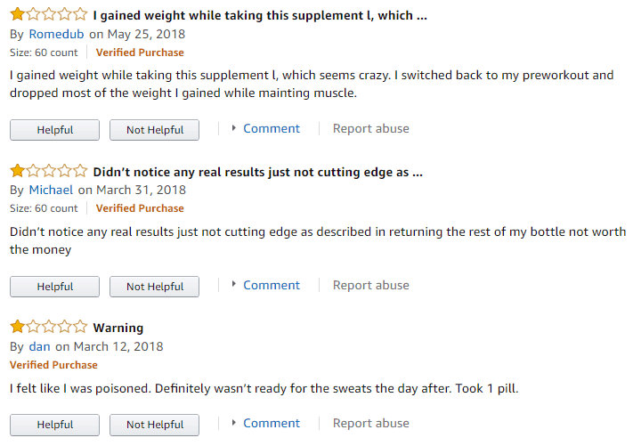 negative reviews of performix sst v2x on amazon
