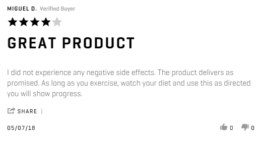 performix sst v2x positive review
