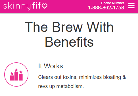 skinny fit detox tea benefits