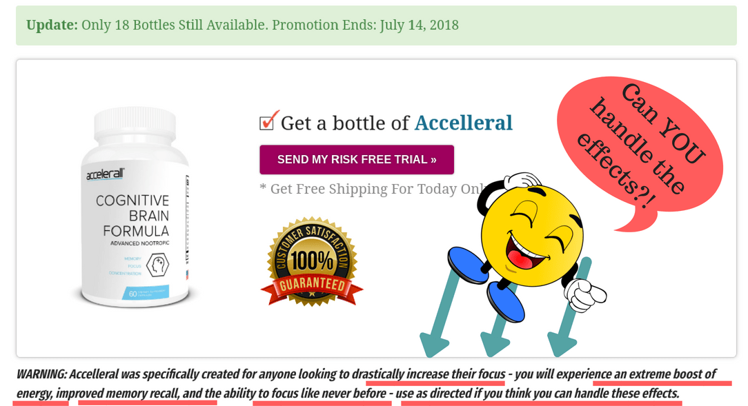 Accelleral exposed as a scam