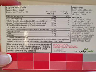HerSolution Ingredients