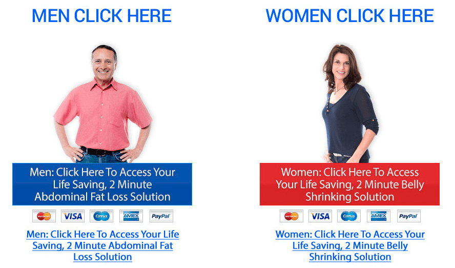 Lean Belly Breakthrough is for men and women