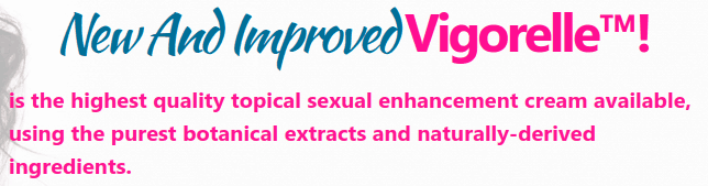 Vigorelle contains all-natural ingredients