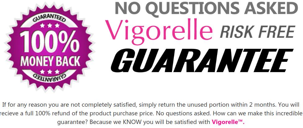 Vigorelle has a 60-day money-back guarantee