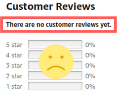 No Amazon reviews of Virmax for Her