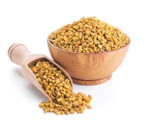 Climadex contains fenugreek extract