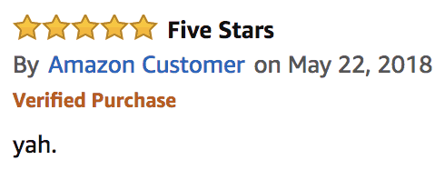 vague review of lipo 6 black hers on amazon