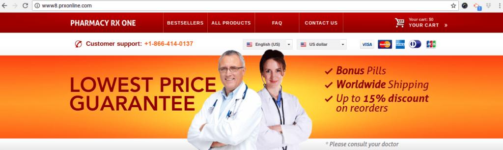 Pharmacy RX One is it legitimate