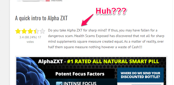 actual review of alpha zxt