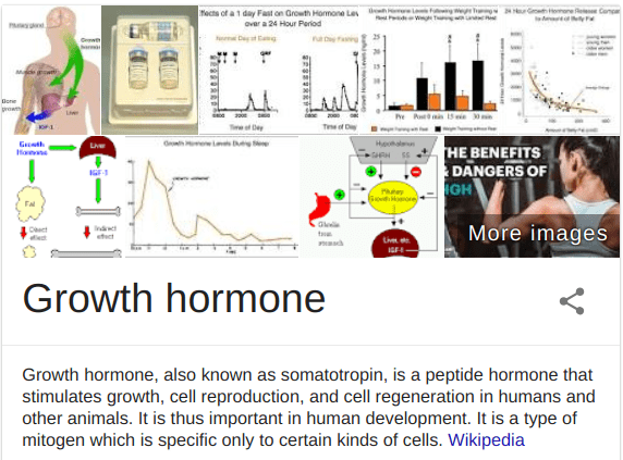 Somaderm HGH is a human growth hormone gel that you apply to the skin