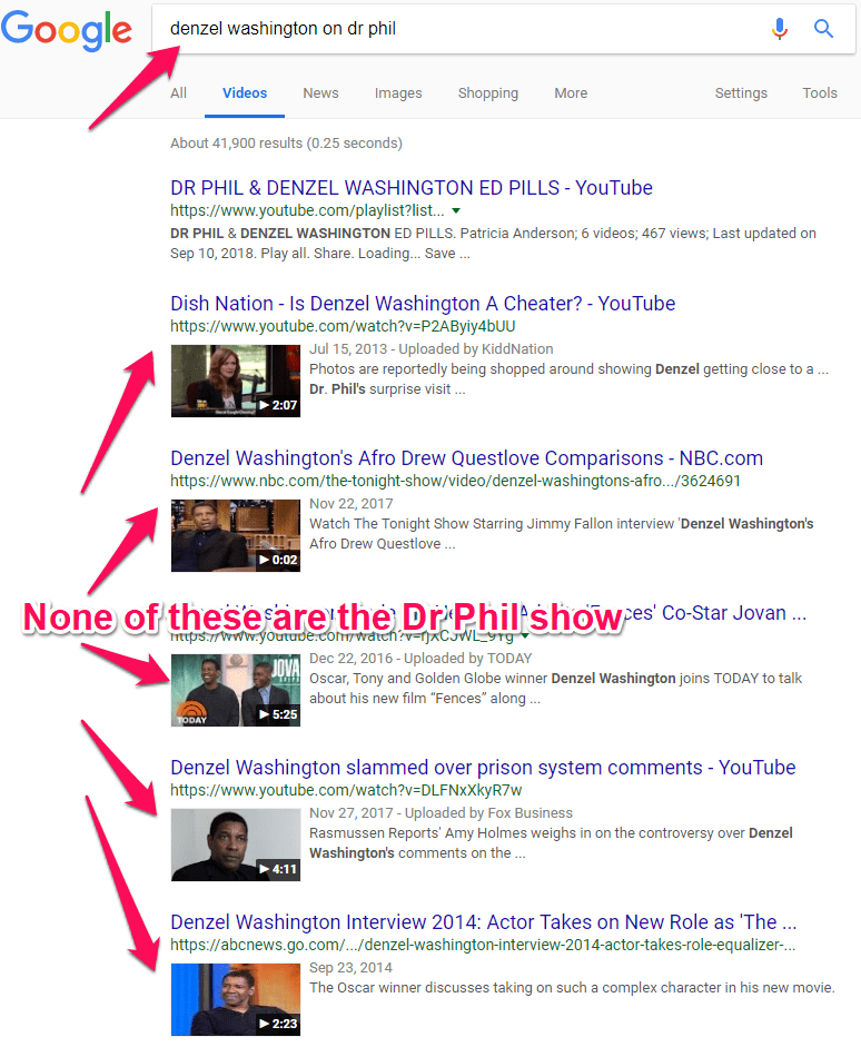 denzel washington on dr phil google search