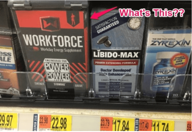 Workforce Pills for energy are sold at CVS